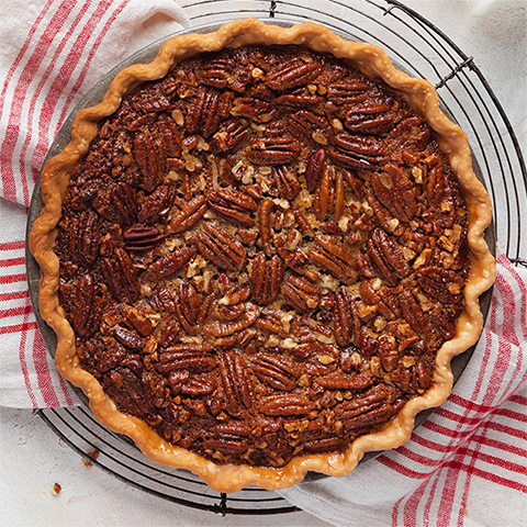 Pecan pie with Karo